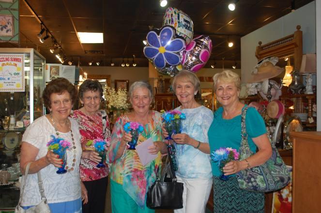 """The """"J Club"""" Jodi, Judy, Judy (Mom), Jean and Joni!"""